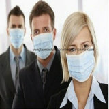 Gesponnene Gesichtsmaske der Hygiene-pp. nicht, die Maschine herstellt