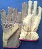 Кожаные перчатки- рабочей Glove-Cheap Glove-Labor вещевого ящика