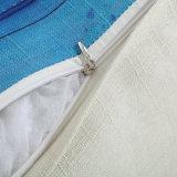2018 высшего качества с малым проекционным расстоянием подушка случае постельное белье из хлопка подушки сиденья напечатано Squarae 18 дюйма