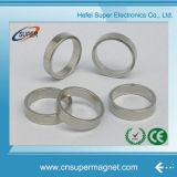 Imán de anillo niquelado de NdFeB de la permanente de 40*9-10m m