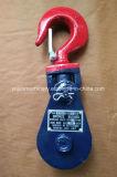 Poulie coupée du matériel de levage de câble métallique H418