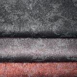 銀製の失敗の熱い押すのどPUの革製バッグの靴ファブリック