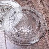 Lastra di vetro di vendita del campione libero di disegno caldo di Embossment in mobilia della cucina
