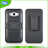Novo no mercado PC TPU Combo Case, Buckle Ring Kickstand Cell Phone Case