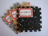 Feuille en caoutchouc de granule, feuilles en caoutchouc avec toutes sortes de couleur