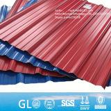 Überzogener Metallaluminiumzink-Stahlblechgalvalume-Steingroßverkauf-gewölbtes Metalldach-Blatt