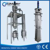 Apparaat van de Distillatie van de Olie van de Roterende Evaporator van de Apparatuur van de VacuümDistillatie van de Distillateur van de Dunne Film van Tfe het Hoge Efficiënte Geageerde