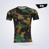OEM/ODM быстрого сжатия сухой T кофта мужчин фитнес-под кожу колготки базового слоя T футболка