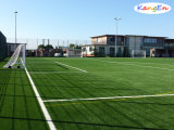SoccerまたはFootball FieldのためのFibrillated Synthetic Turf