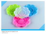 палитра искусствоа 13.7*13.7cm цветастая для малышей и студентов (цветок)