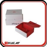 Impressão personalizada Quatro cores Flat Open Magnetic Folding Gift Packaging Box