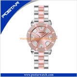 Form-Quarz-Armbanduhr für Dame