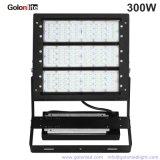 IP66 140lm/W Marcação RoHS 25 40 graus Holofote do LED de exterior 300 Watts 300W Holofote LED