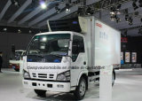 4X2 Isuzu 600p gekühlter Van 6 Tonnen Gefriermaschine-LKW-