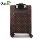 革トロリー荷物の走行の荷物のブリーフケースのスーツケースの搭乗の荷物