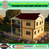 Casa pré-fabricada modular do contentor para o escritório de acampamento do hotel