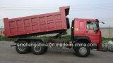 Sinotruk HOWO 6X4 덤프 트럭 336HP 쓰레기꾼 트럭 팁 주는 사람 트럭