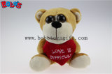 Valentines Day Gifts Big Eyes Toy Animal Monkey Series with Red Heart Bos1176