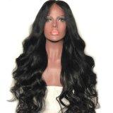 150% плотность кривой тела волосы кружева передней Wig Бразилии