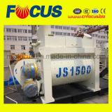 Misturador concreto do eixo Js1500 gêmeo forçado amplamente utilizado