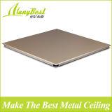 Clipe Square & retângulo de alumínio no teto