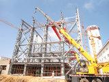Blocco per grafici della struttura d'acciaio per la costruzione del magazzino
