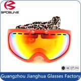 最もよいTPUフレームの規定の屋外スポーツの安全メガネ任意選択カラーは目の保護のスノーボードマスクのスキーゴーグルを分極した