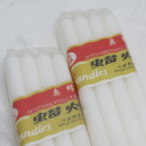 Nigeria 55g Bolsa de plástico blanco vela de la Flauta de embalaje
