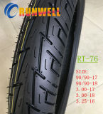 Neumáticos de goma de la motocicleta del 55% 90/90-17 90/90-18