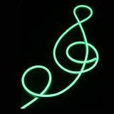 Doppio indicatore luminoso al neon parteggiato impermeabile della corda IP65