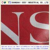 Perforated знамя гибкого трубопровода PVC знамени сетки для печатание
