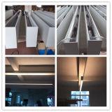 Perfil de alumínio luminária de luz de LED para iluminação de montagem embutida no tecto suspenso
