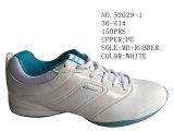 Deux couleurs PU chaussures de football