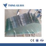 12mm /vidrio templado de color claro Antiskid Non-Slip de vidrio de vidrio, con Ce/SG/Certificado ISO