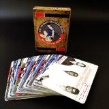 De douane drukte 54 Verschillende Speelkaarten van het Document van Ontwerpen af