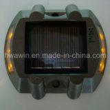 Vite prigioniera di alluminio della strada del LED degli Gatto-Occhi dell'indicatore solare della strada