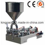 Máquina de rellenar semiautomática líquida de la viscosidad