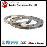 Borde de la forja del anillo del acero de carbón