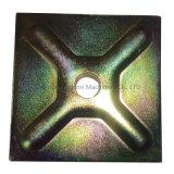 Coffrage de béton Slop Plaque de fixation de l'écrou de combinaison