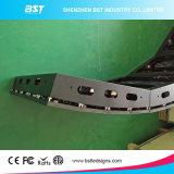 P5мм для использования внутри помещений полноцветный светодиодный дисплей по кривой с магнитным модуля