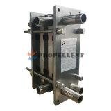 Acero inoxidable sanitario/pasterización/cambiador de calor higiénico de la placa