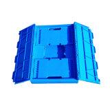krat van het Gebruik van de Opslag van de Landbouw van 60X40cm het Plastic Vouwbare met Deksel