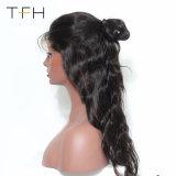 Meilleure vente Full Lace Cheveux humains perruques 9une Vierge organisme brésilien vague Glueless perruque de cheveux humains Lace Front avec bébé sèche (FOH18)