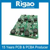 Conjunto de placa de circuito impresso com tecnologia DIP