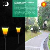 ダンスの炎の熱い販売の太陽エネルギーの庭ライト屋外LED軽い火太陽ライト