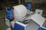 Машина крена термально бумаги разрезая для клиента Барбадосских островов с 2016