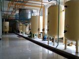 Riga di produzione di petrolio della crusca di riso di 100 T/D, raffineria di petrolio della crusca di riso