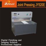 Boway Jy520e électrique pour la construction de la machine de presse conjointe sur le couvercle de l'édition de livres de reliure