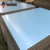 2017 azul claro de poliéster Benging ranurar Panel aluminio compuesto (AE-36A)