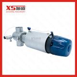 Aço inoxidável único assento da válvula Mixproof sanitárias com C-top